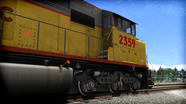 скриншот Union Pacific SD60M Loco Add-On 4