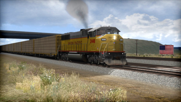 скриншот Union Pacific SD60M Loco Add-On 5