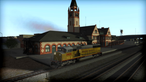 скриншот Union Pacific SD60M Loco Add-On 1