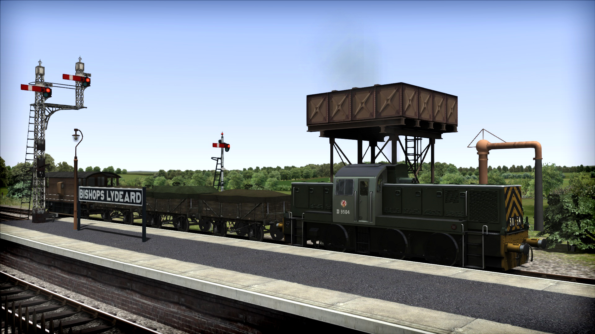 Train Simulator: BR Class 14 Loco Add-On screenshot
