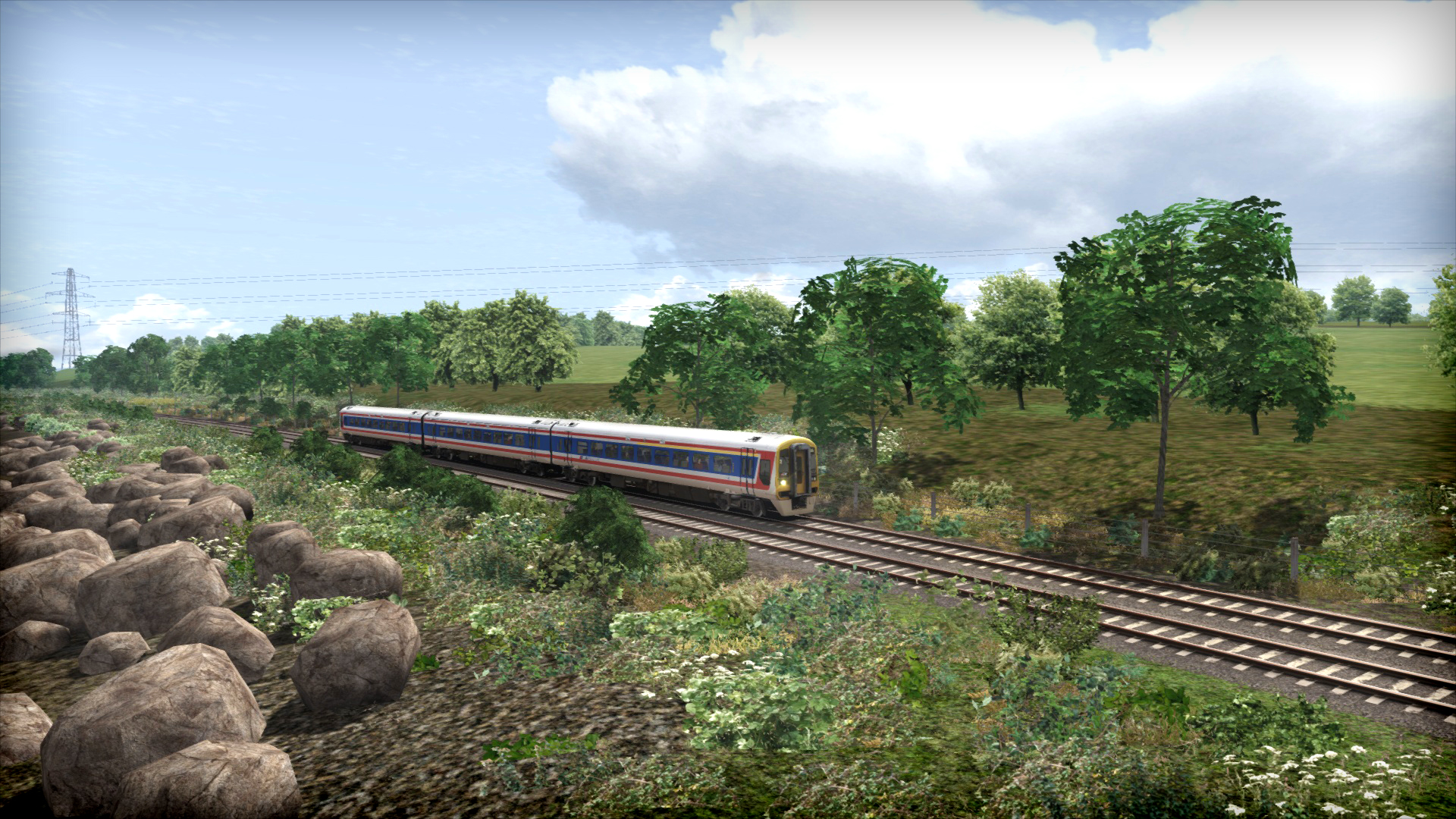 Train Simulator: Network SouthEast Class 159 DMU Add-On screenshot