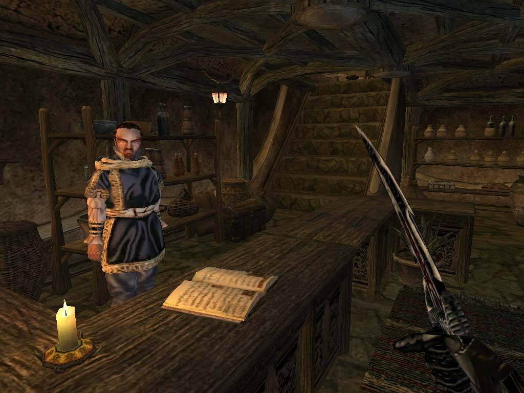 The elder scrolls 3 morrowind mods graphics