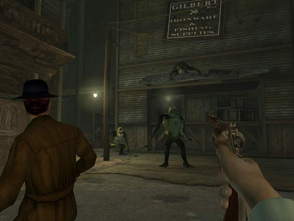 Call of Cthulhu: Dark Corners of the Earth screenshot