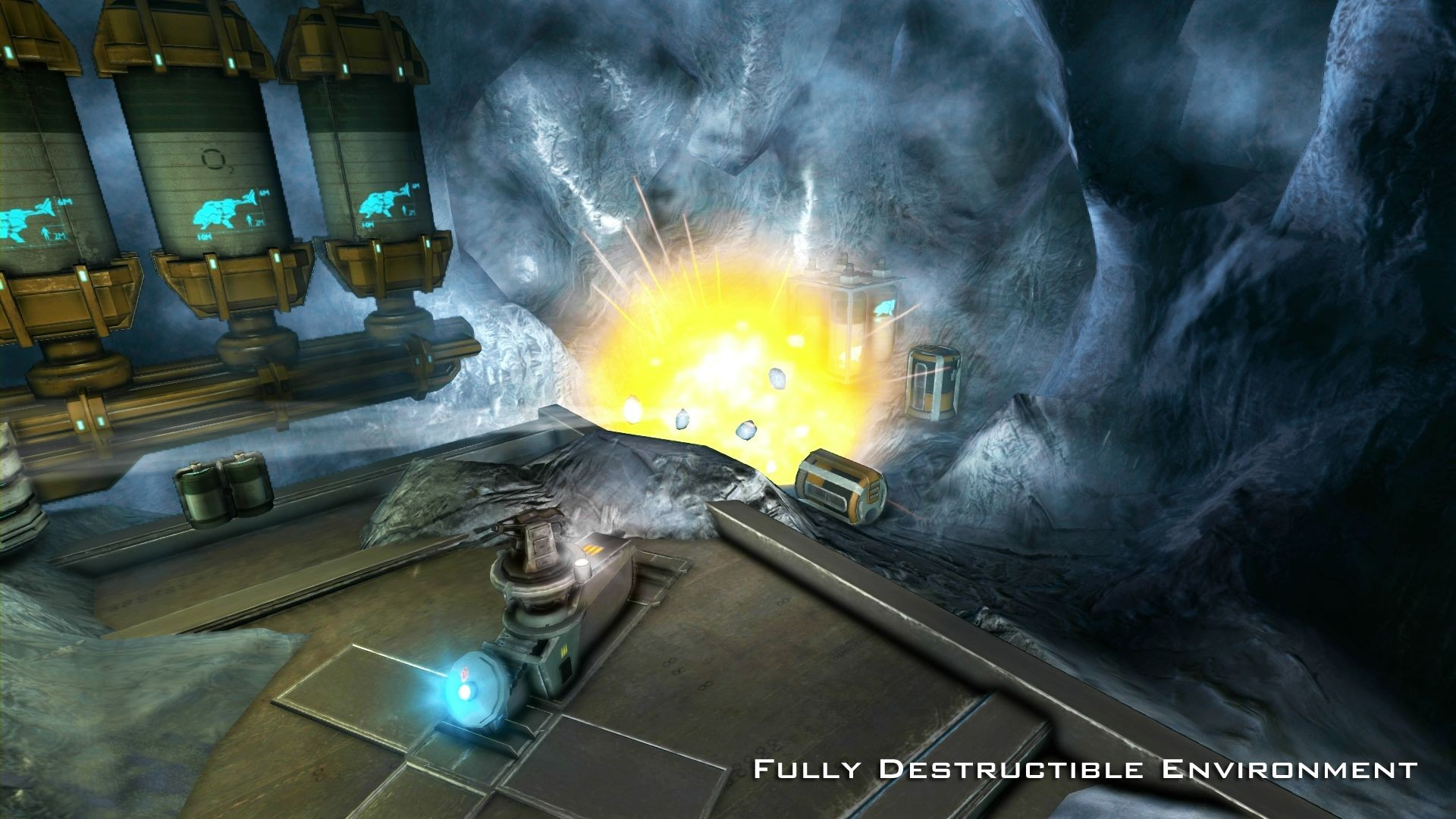 Miner Wars 2081 screenshot