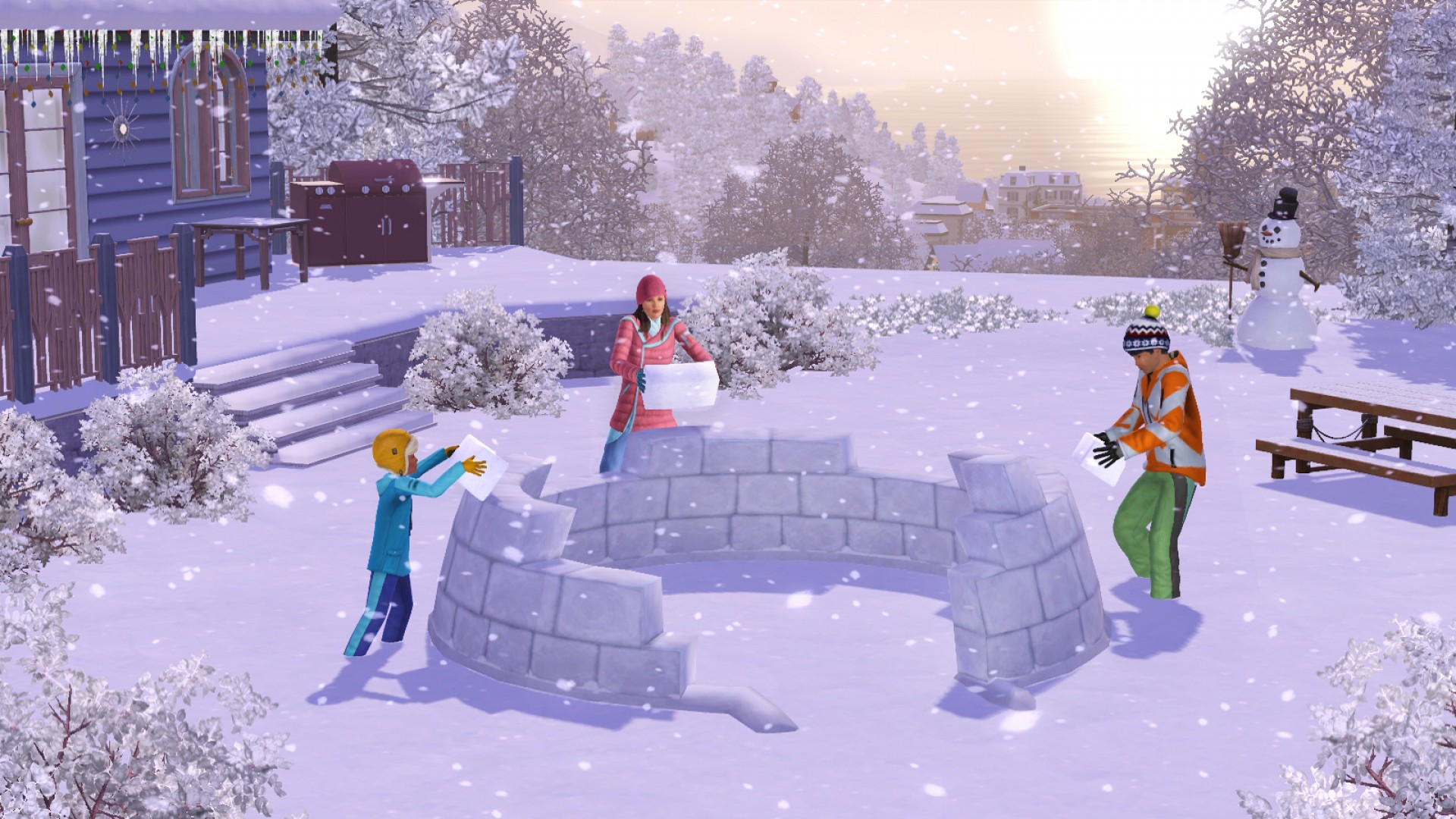 The Sims 3: Seasons screenshot