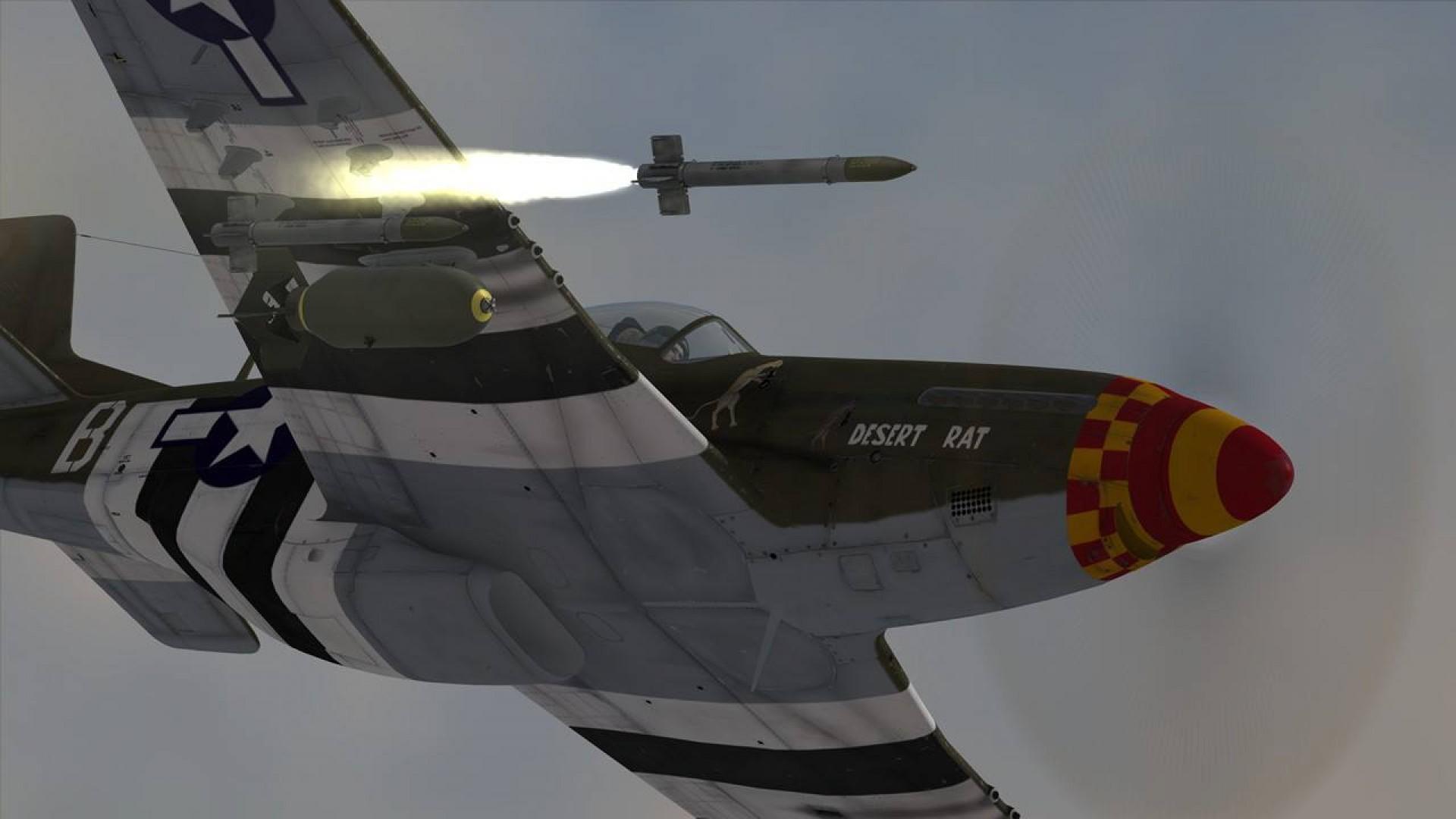 DCS: P-51D Mustang screenshot