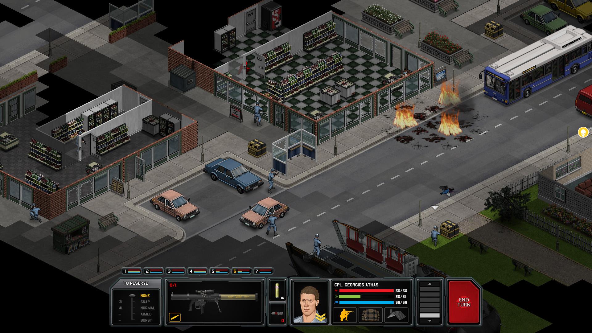 Xenonauts screenshot 3