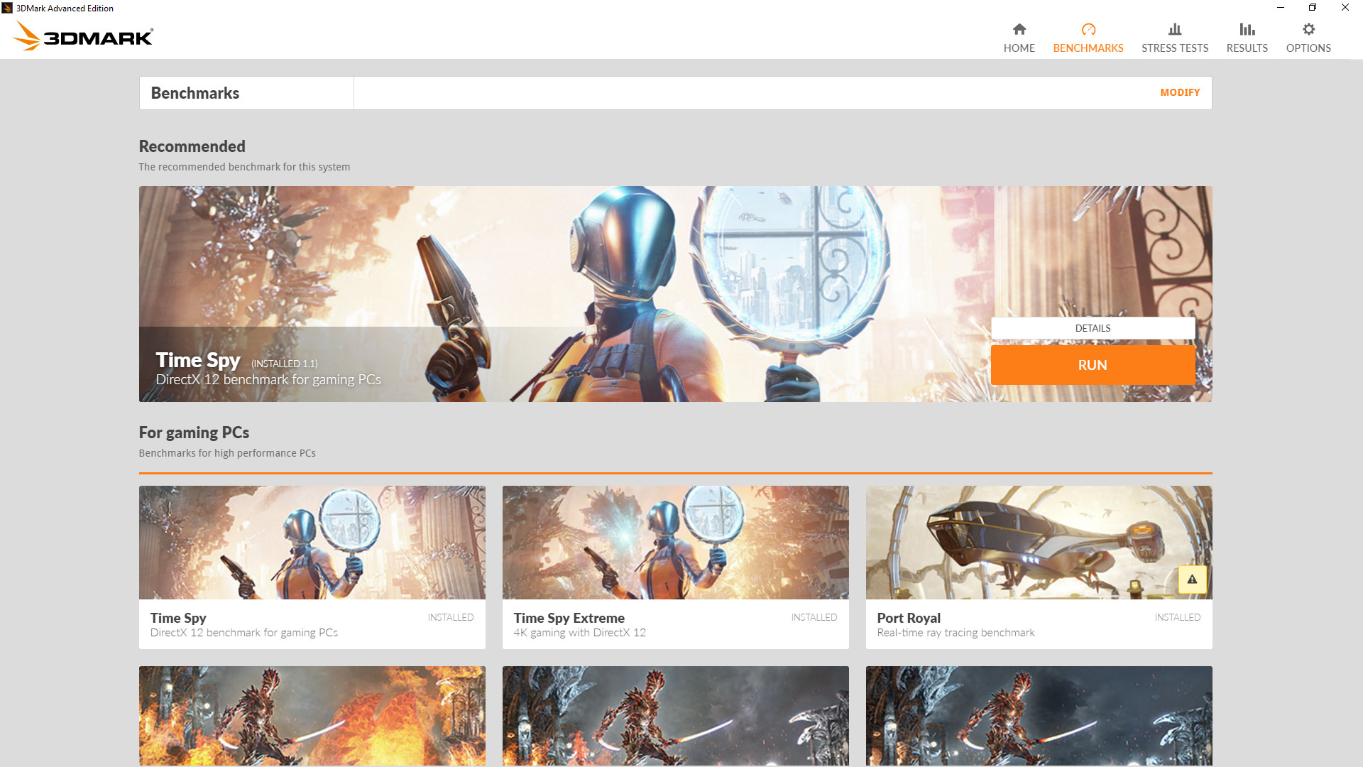 3DMark screenshot
