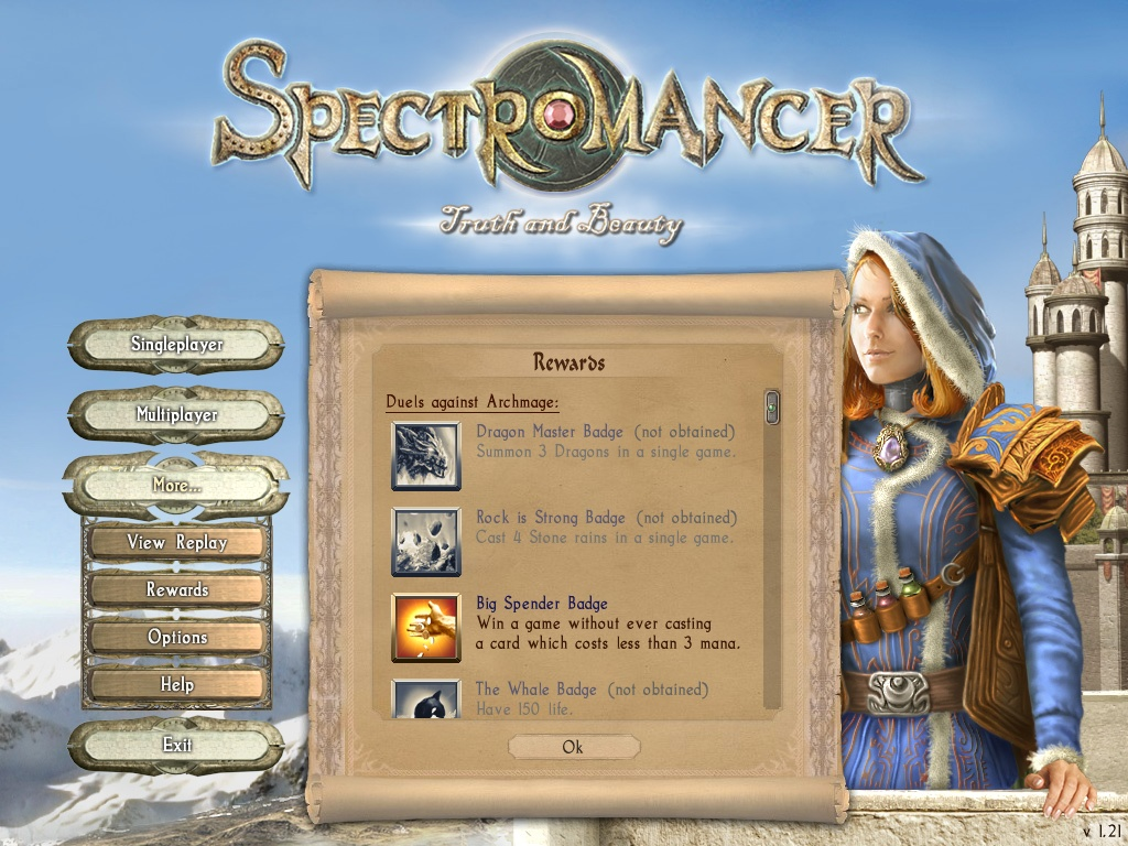 Spectromancer - Truth & Beauty screenshot