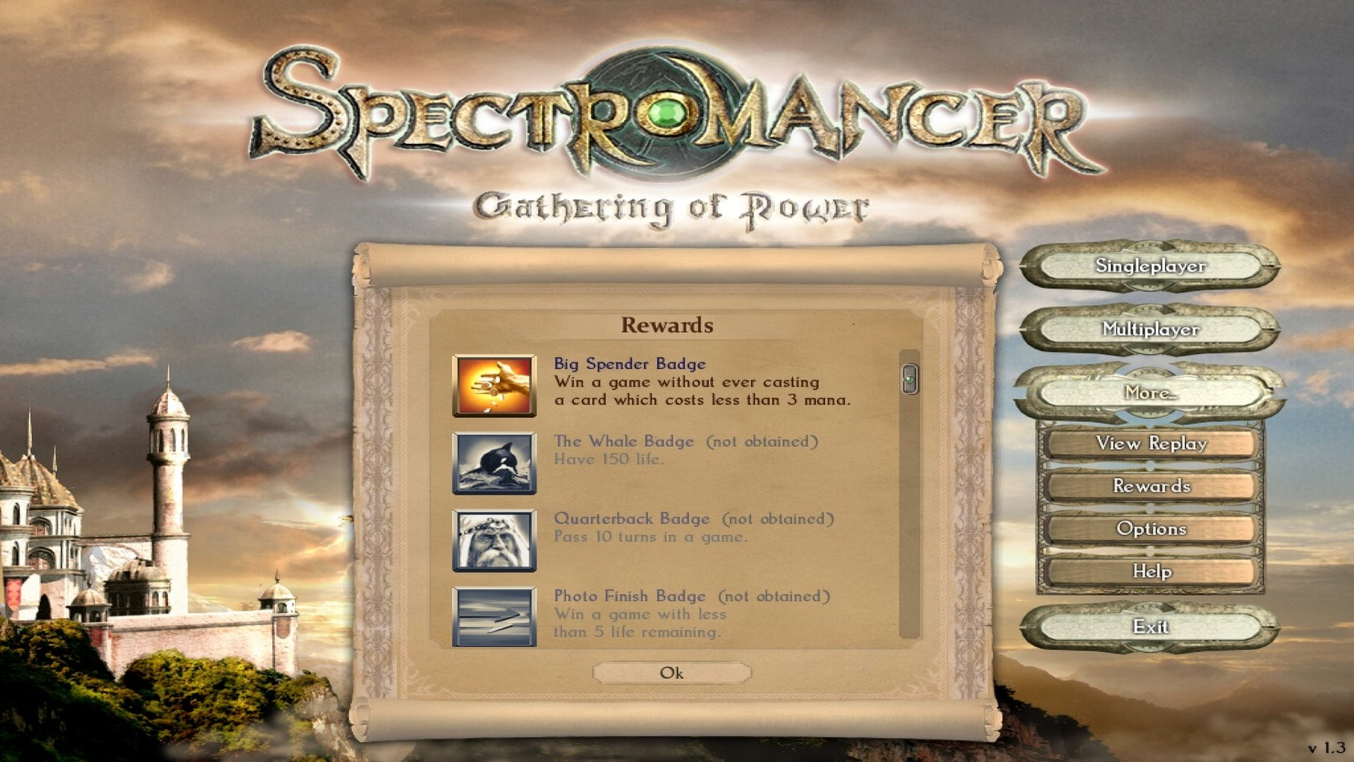 Spectromancer: Gathering of Power screenshot