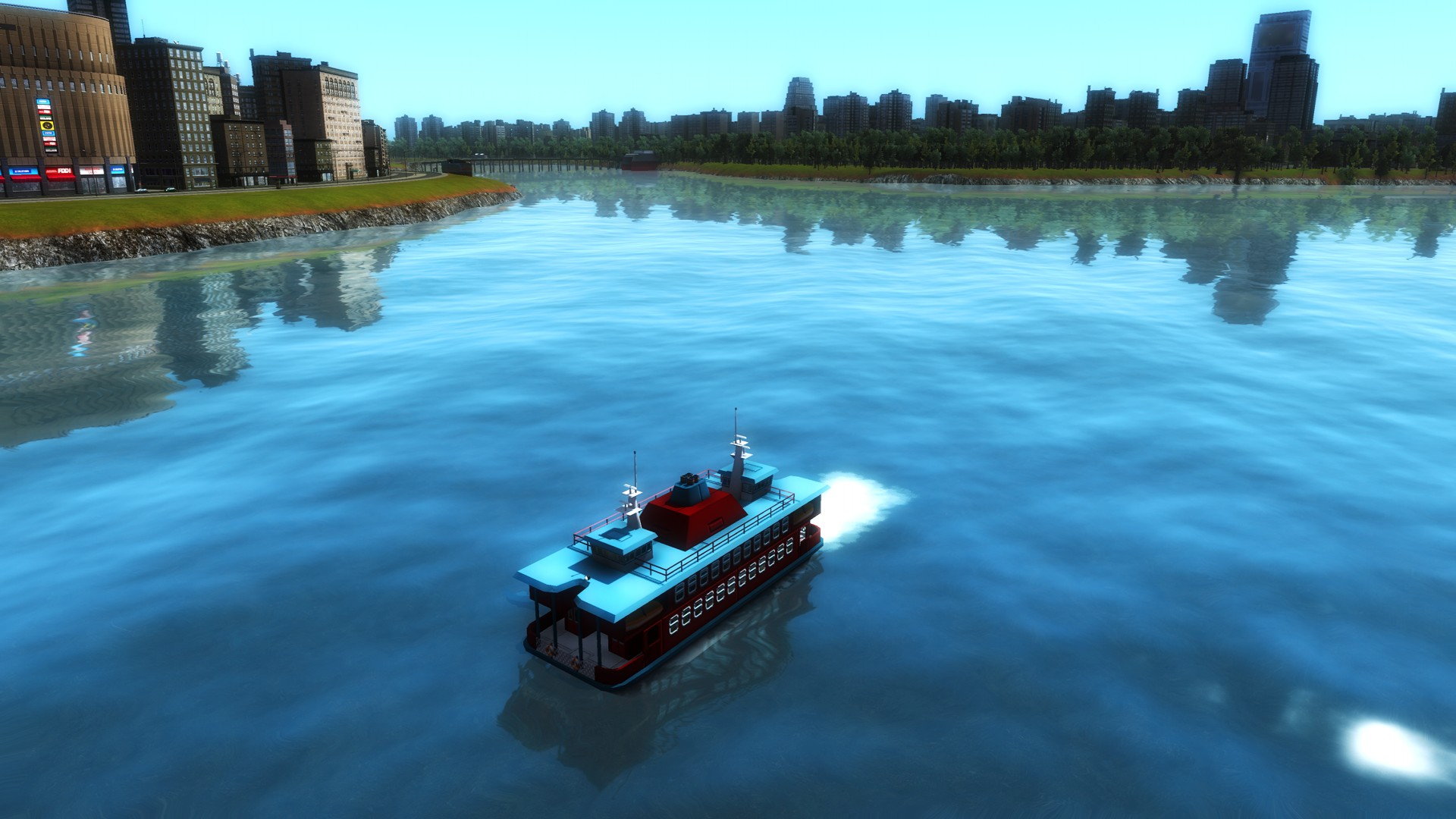 Cities in Motion 2: Wending Waterbuses screenshot