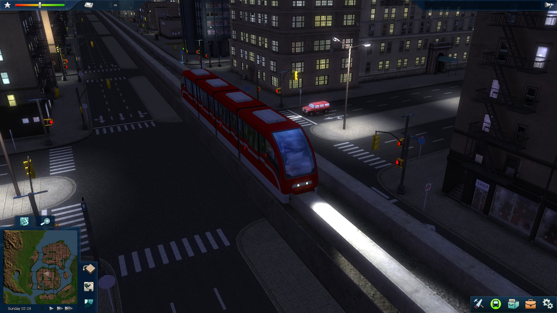 Cities in Motion 2: Marvellous Monorails screenshot