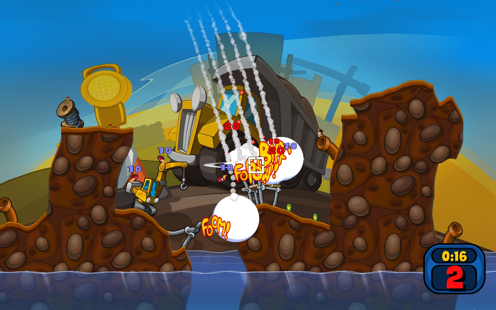 Worms Reloaded screenshot