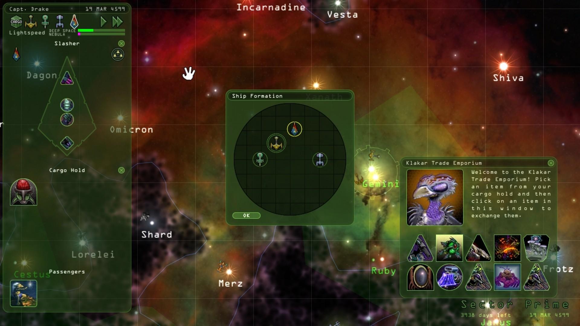 Weird Worlds: Return to Infinite Space screenshot