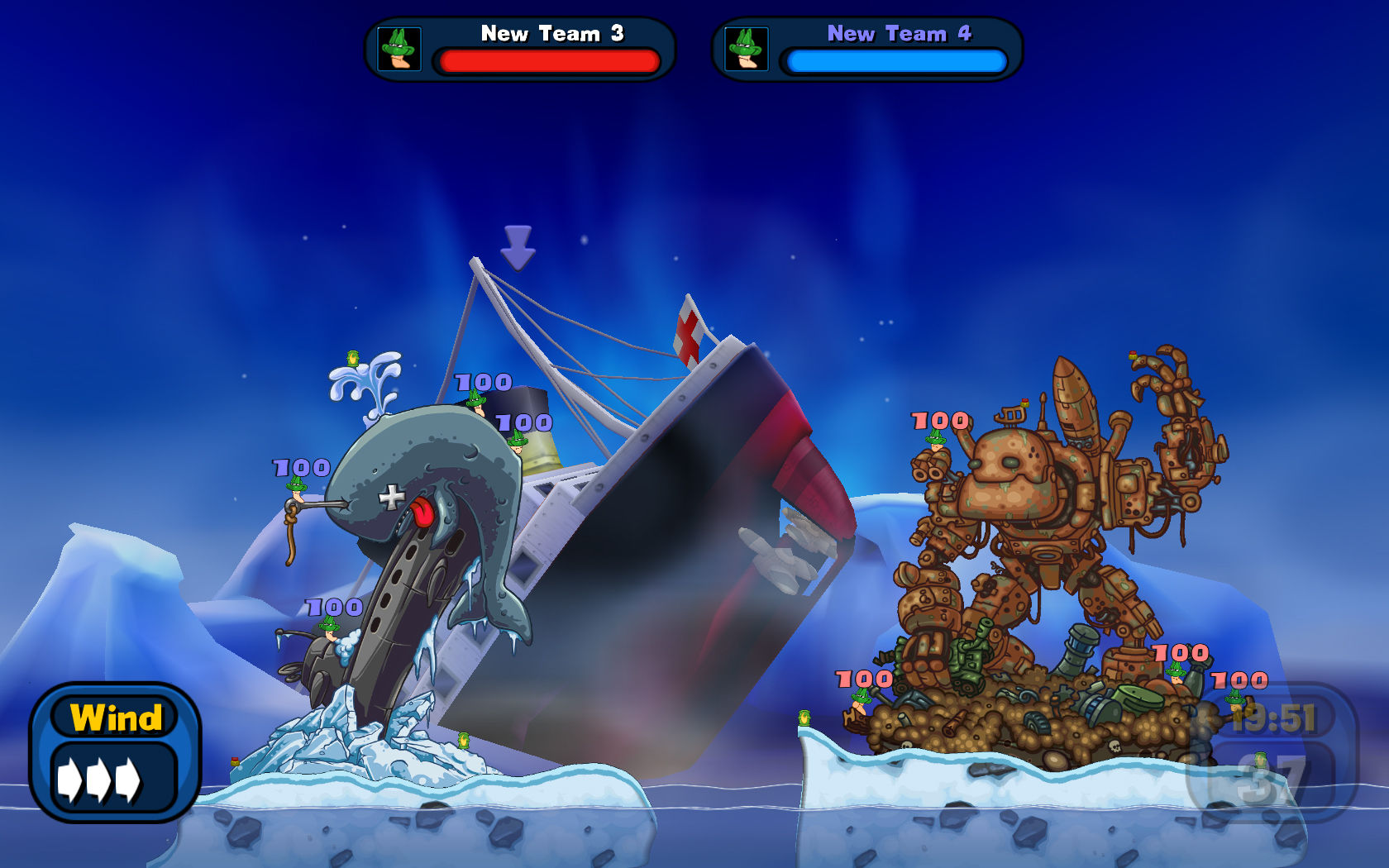 D W midweek madness worms reloaded 50 now with stelay