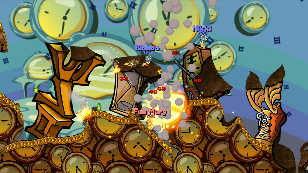 Worms Reloaded: Time Attack Pack screenshot