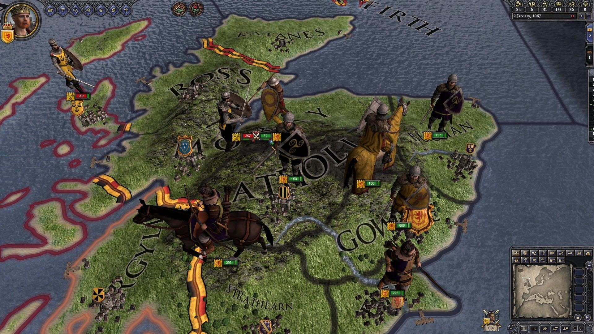 Crusader Kings II: Celtic Unit Pack screenshot