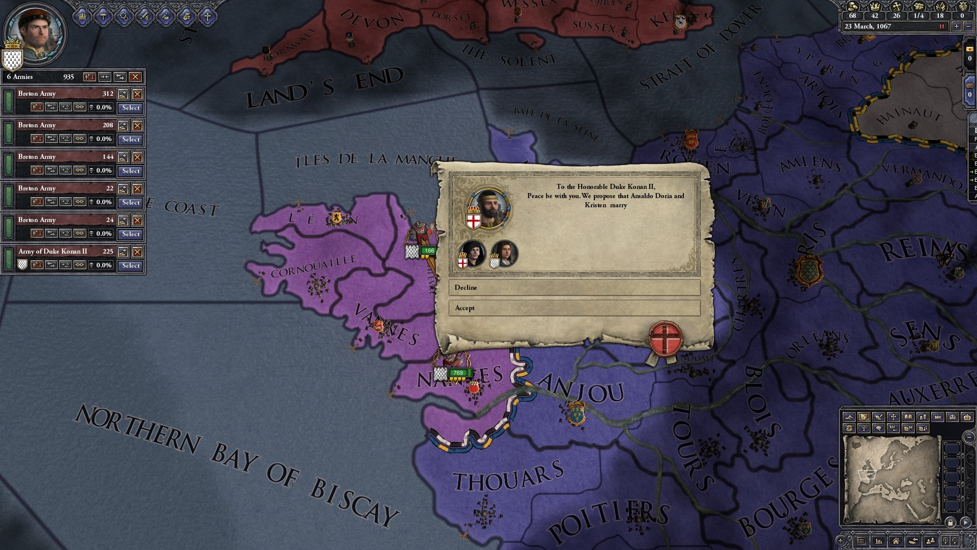 Crusader Kings II: Celtic Portraits screenshot