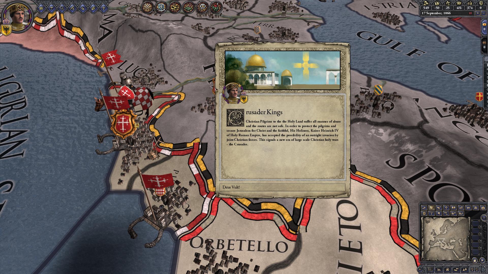 Expansion - Crusader Kings II: Sons of Abraham screenshot