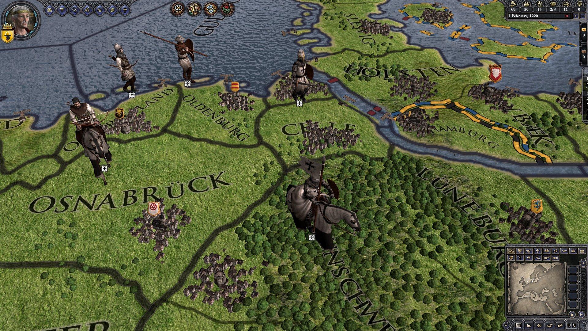 Crusader Kings II: Military Orders Unit Pack screenshot