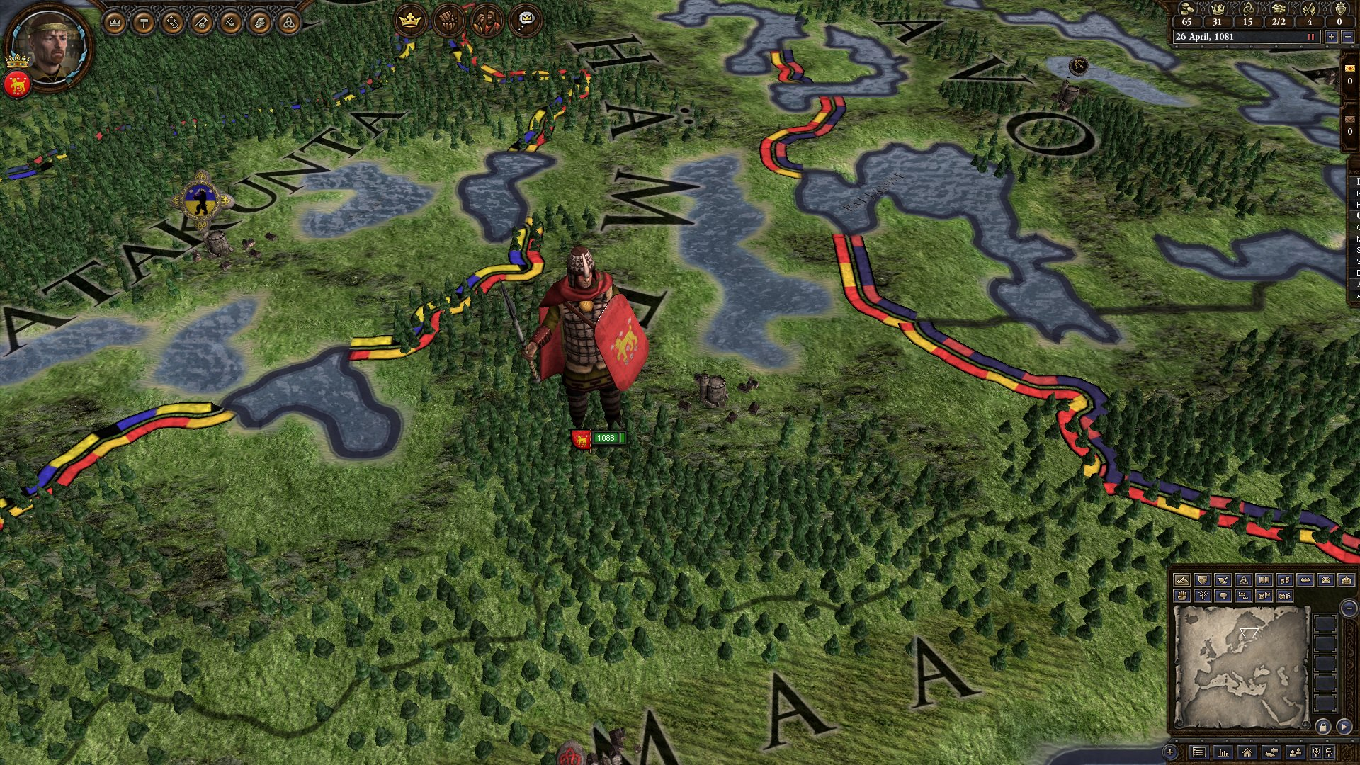 Crusader Kings II: Warriors of Faith Unit Pack screenshot