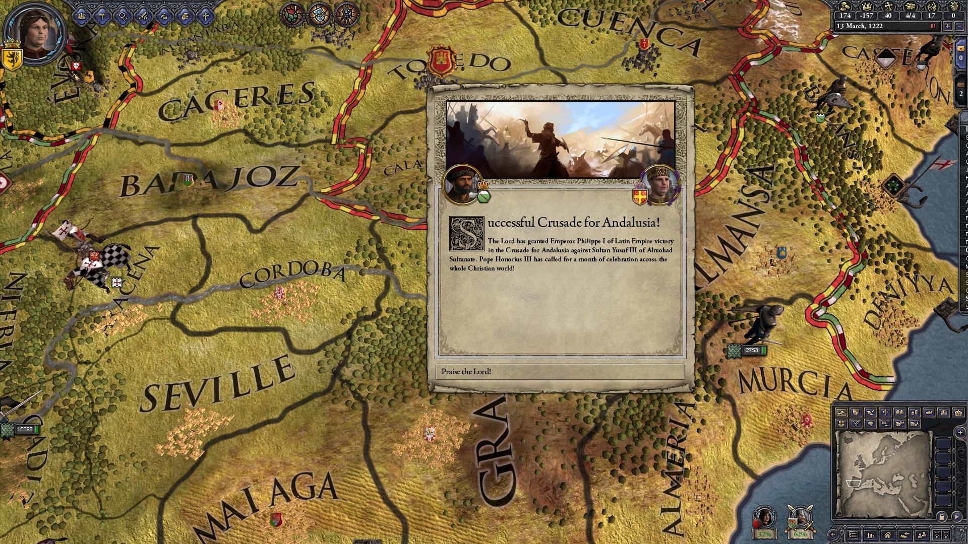 Crusader Kings II: Hymns of Abraham screenshot