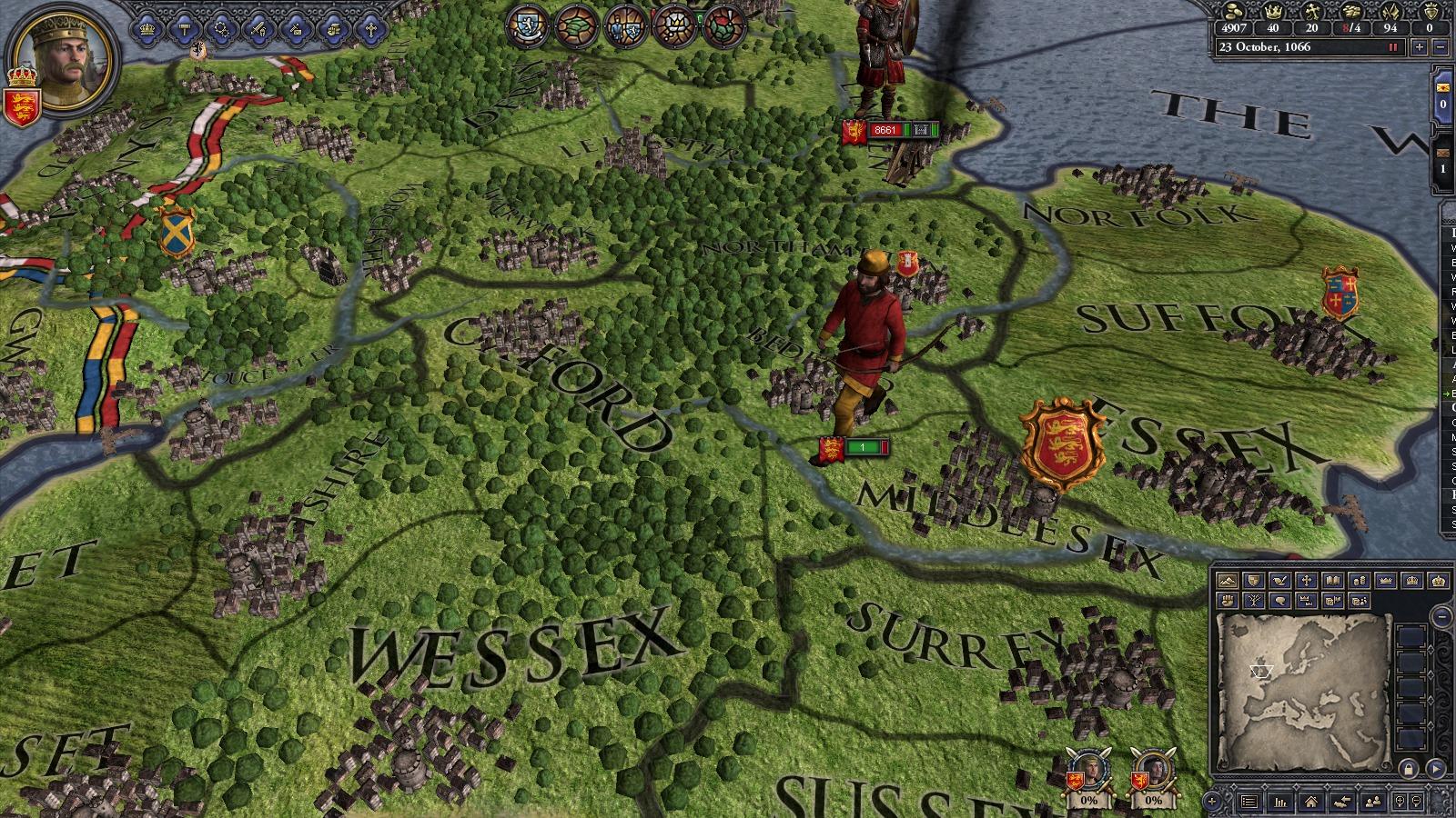 Crusader Kings II: Saxon Unit Pack screenshot