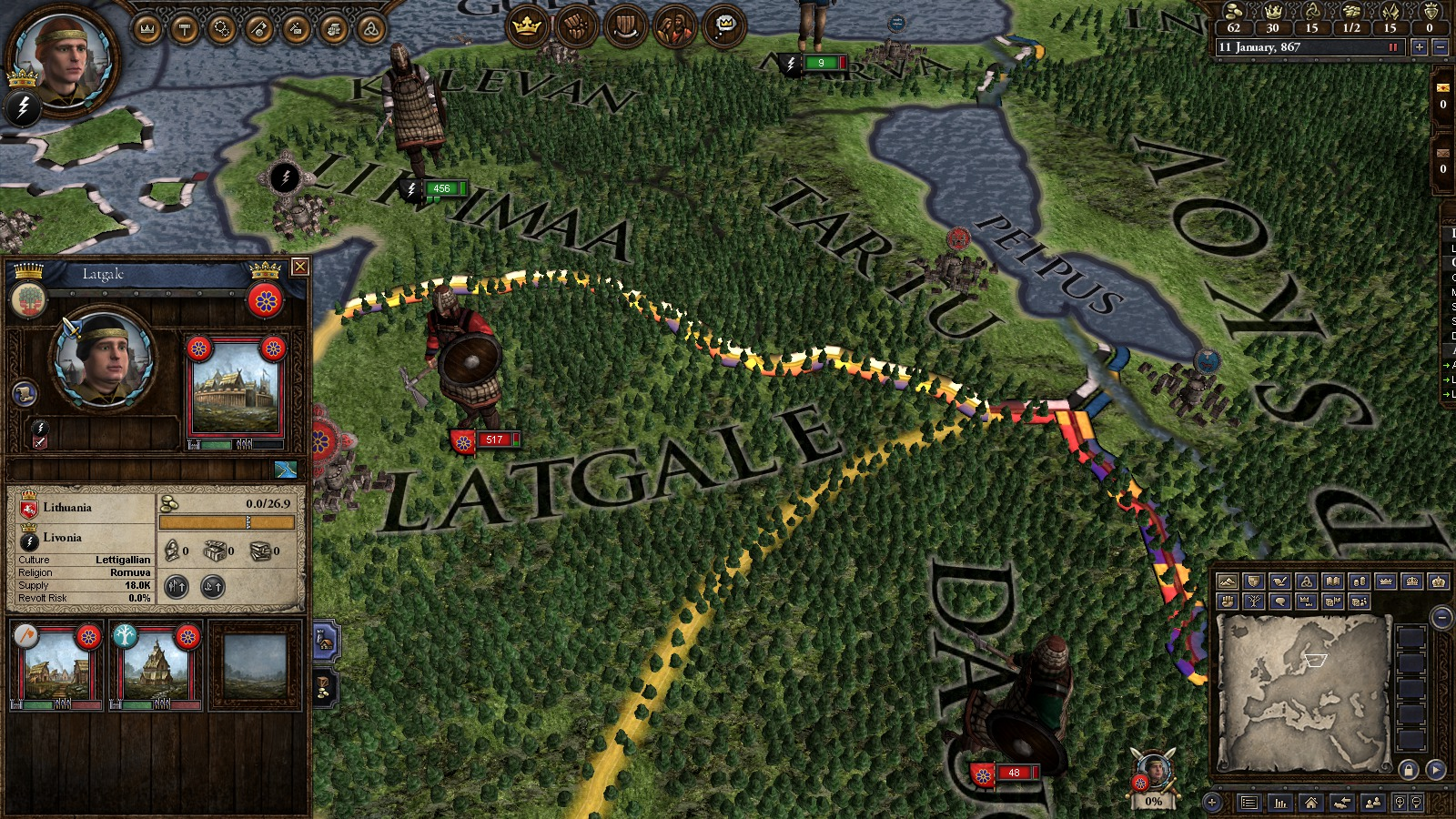 Crusader Kings II: Finno-Ugric Unit Pack screenshot