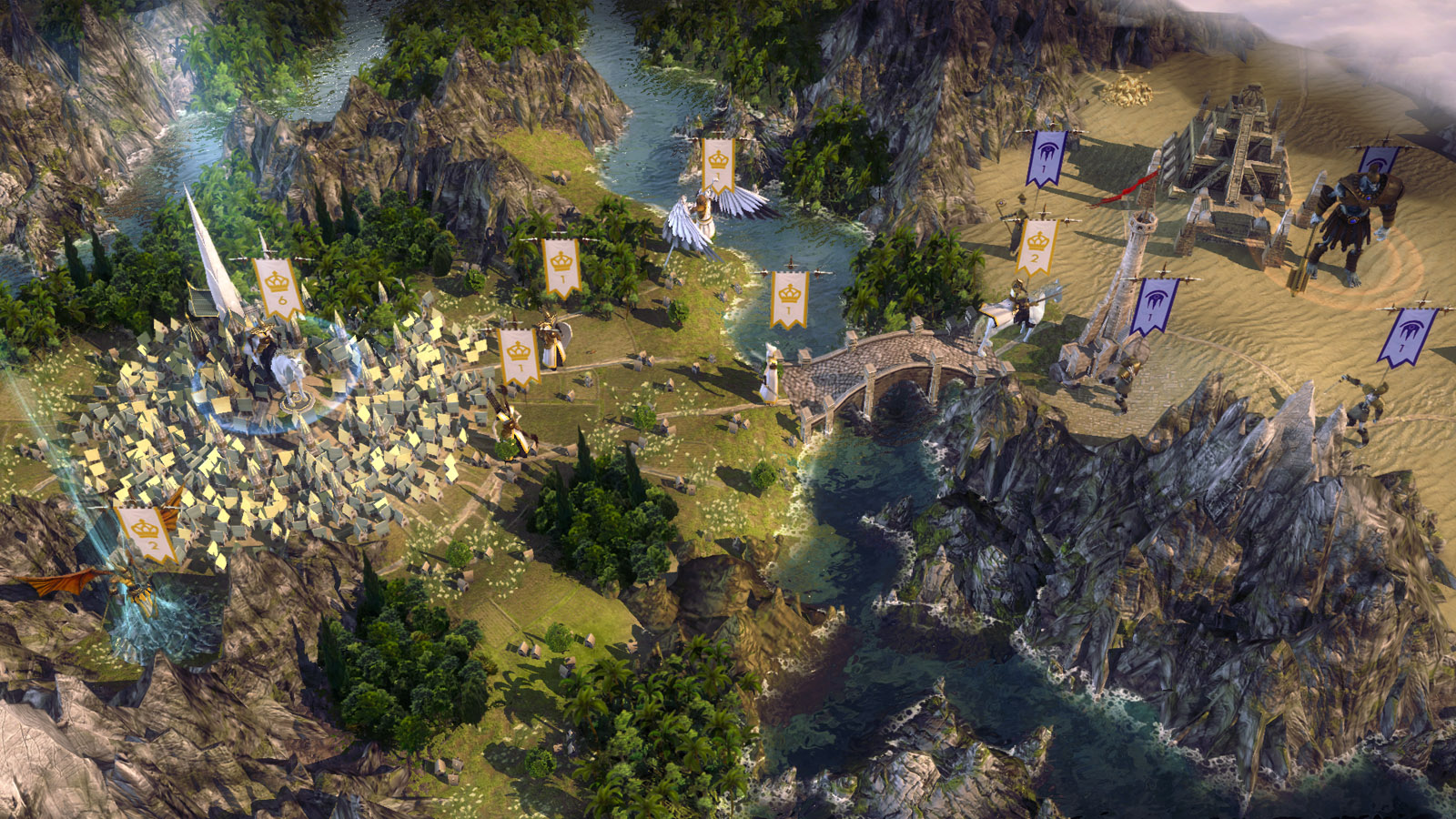 Age of Wonders III. Deluxe Edition [Steam-Rip] [2014|Rus|Eng|Multi5]