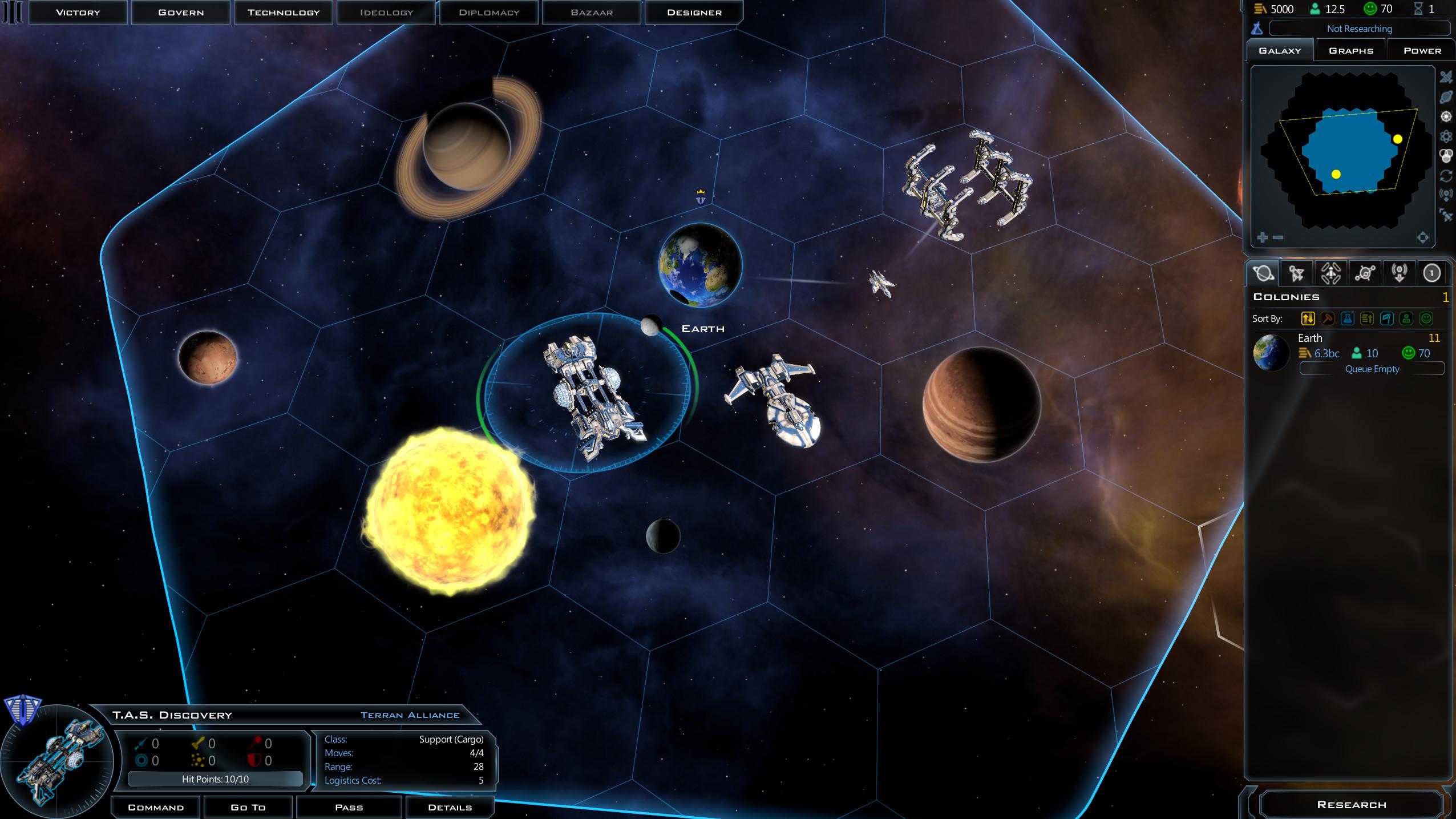 Galactic Civilizations 3 (RUS/ENG) [Repack]