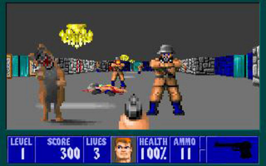 wolfenstein 3d screen grab