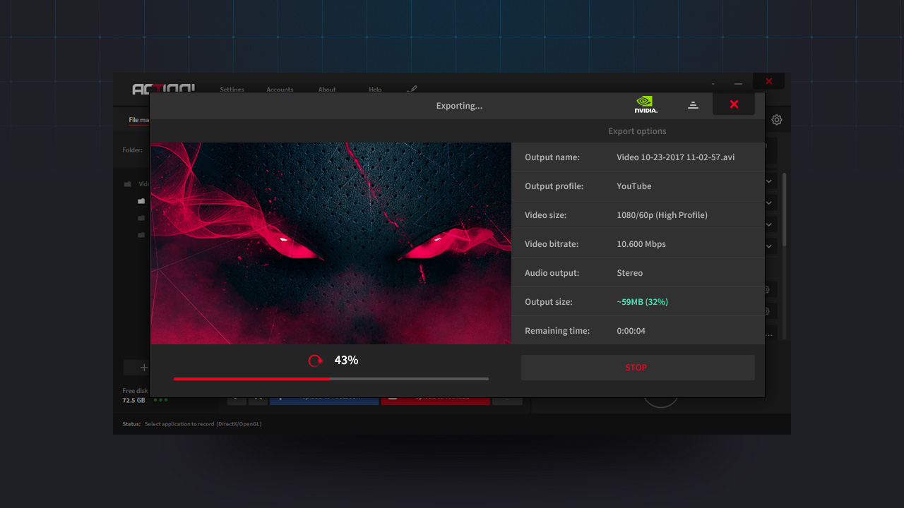Action! - Gameplay Recording and Streaming screenshot