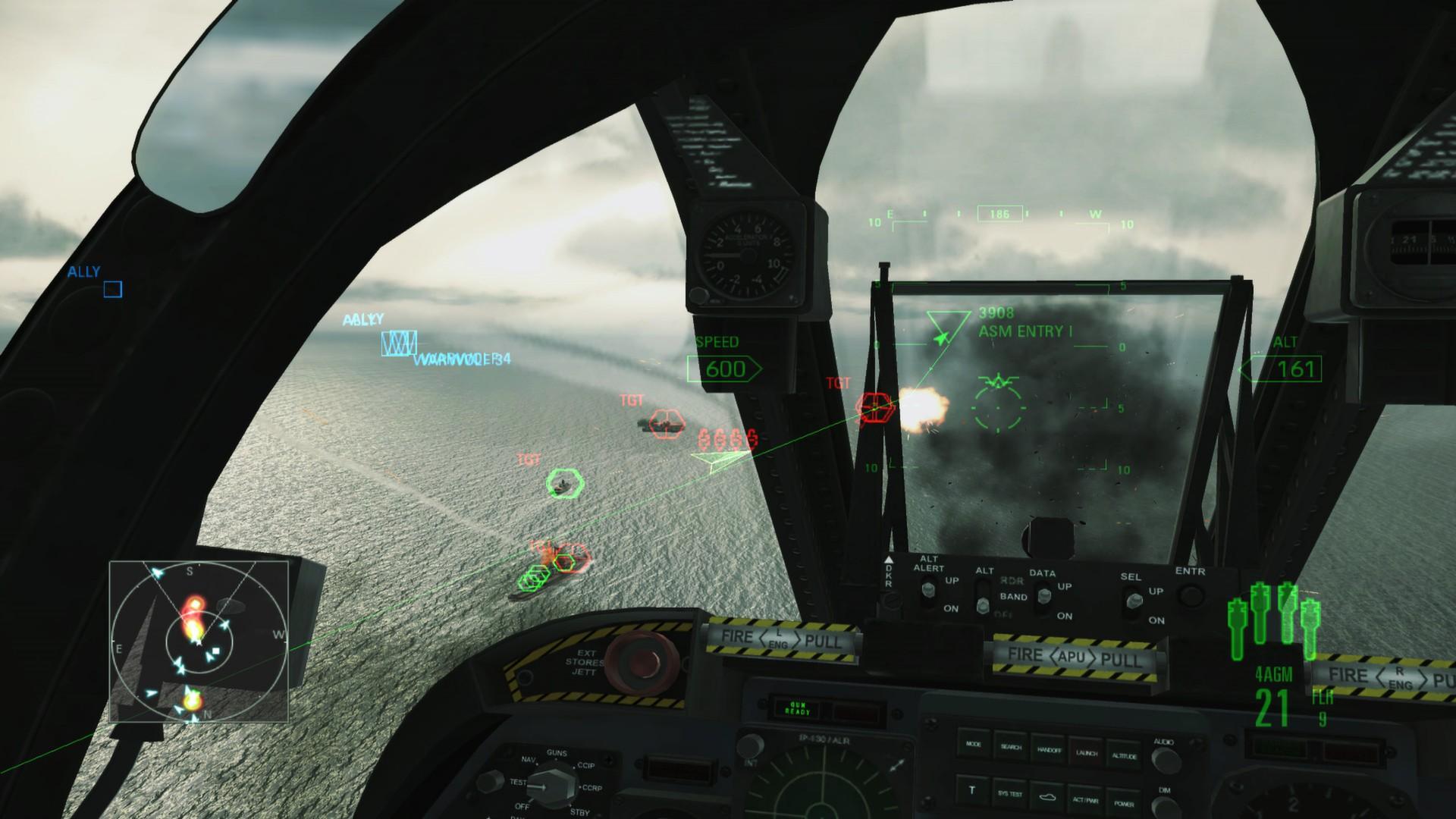 Скачать ace combat assault horizon на пк