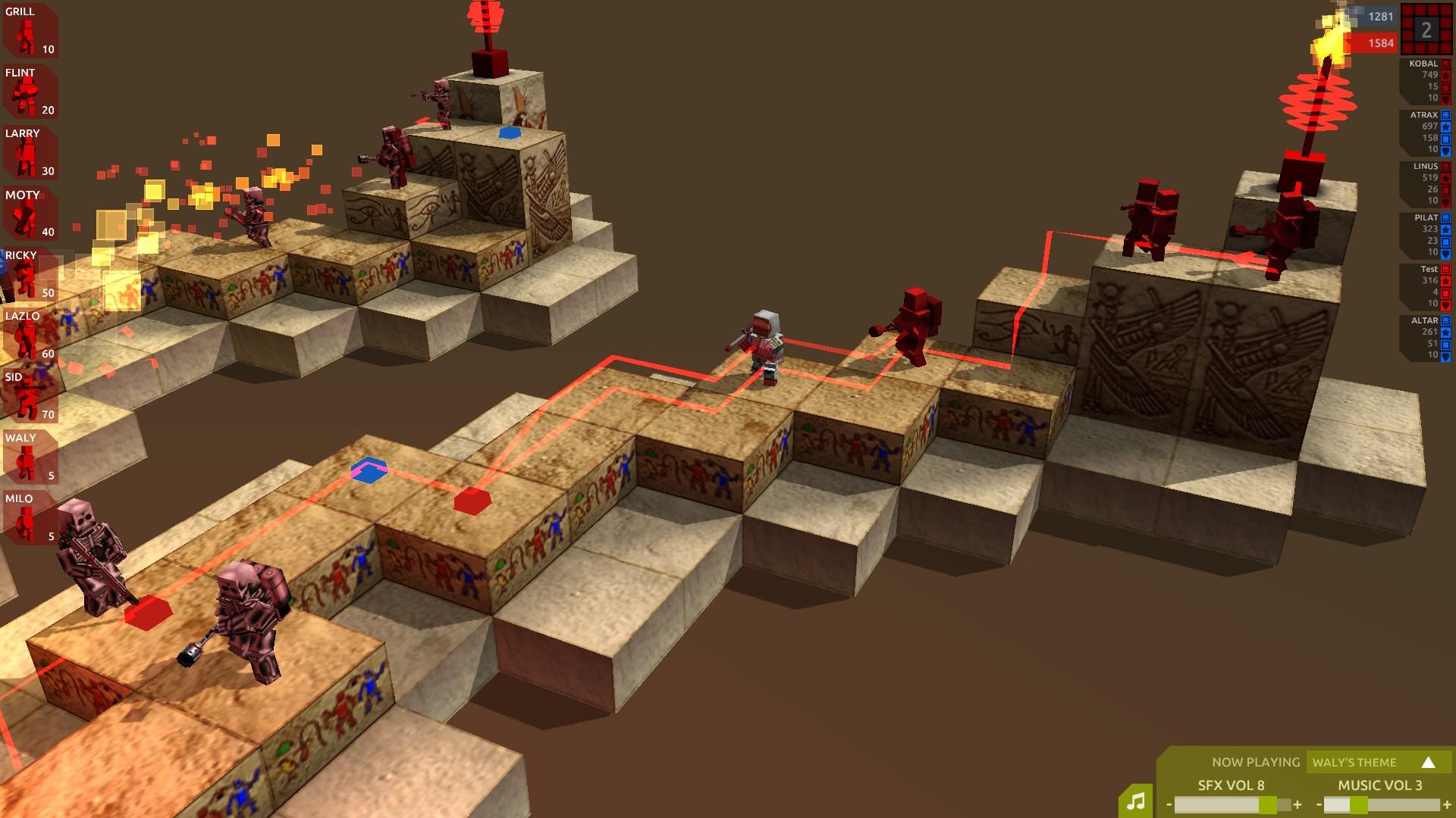 Cubemen 2 screenshot