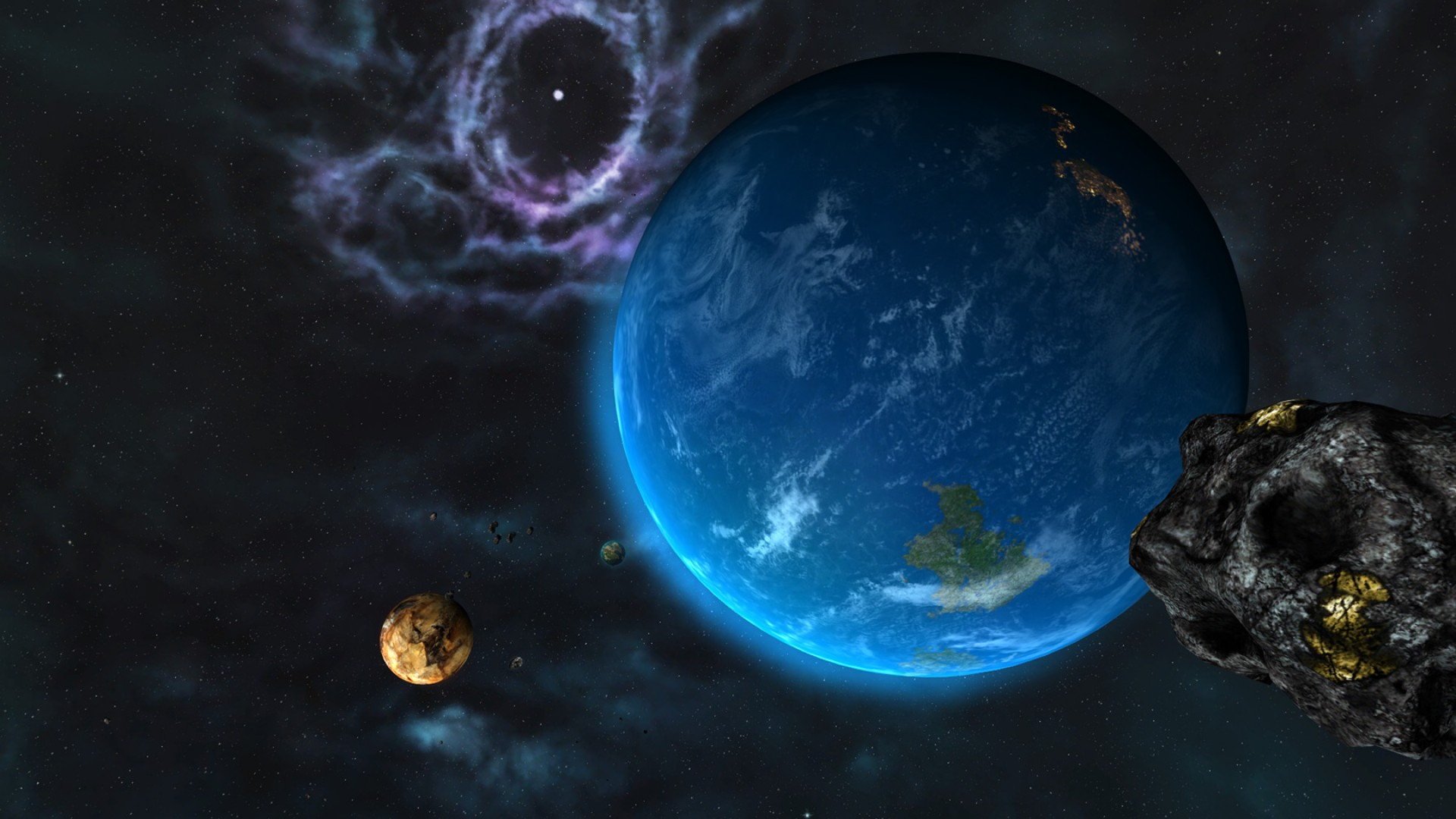 Sins of a Solar Empire: Rebellion - Forbidden Worlds DLC screenshot