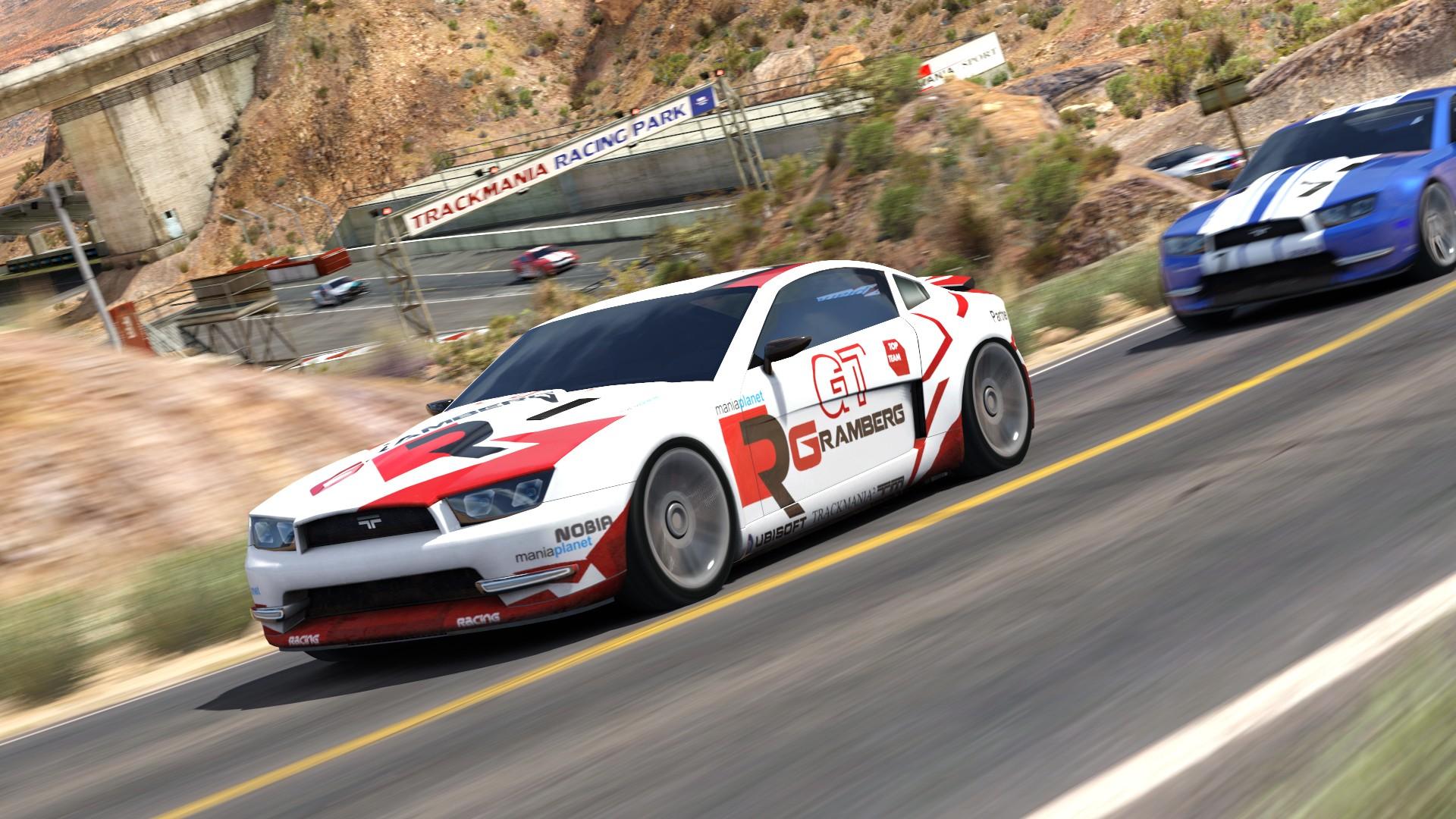 TrackMania² Canyon screenshot