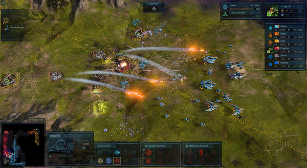 Ashes of the Singularity PC CODEX Screen