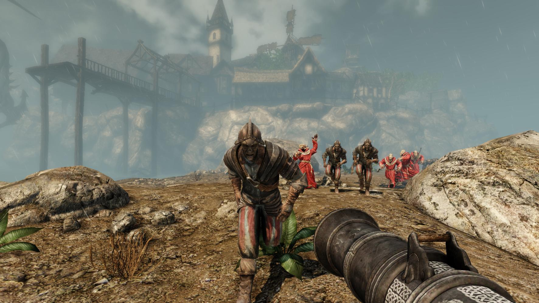Painkiller Hell & Damnation: Demonic Vacation at the Blood Sea screenshot