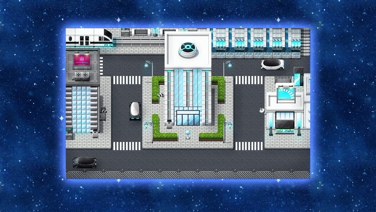 RPG Maker VX Ace - Futuristic Tiles Resource Pack screenshot