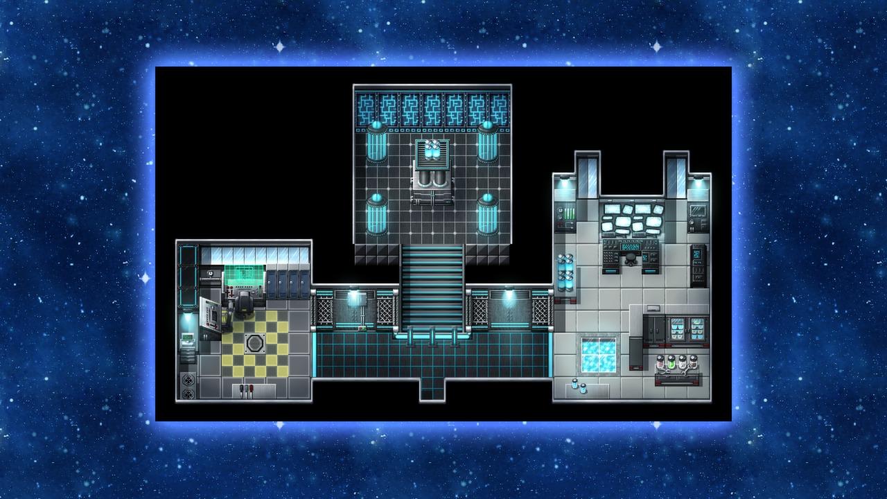 Rmmv Coffee House Interior Tileset 0 8: RPG Maker: Futuristic Tiles Resource Pack