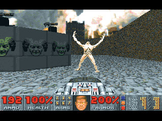 DOOM II screenshot