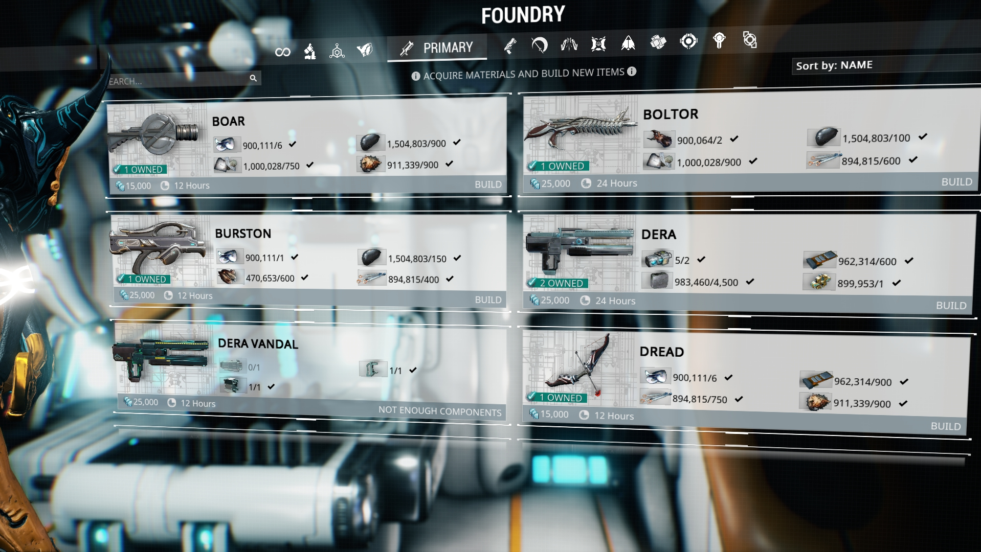 Warframe screenshot