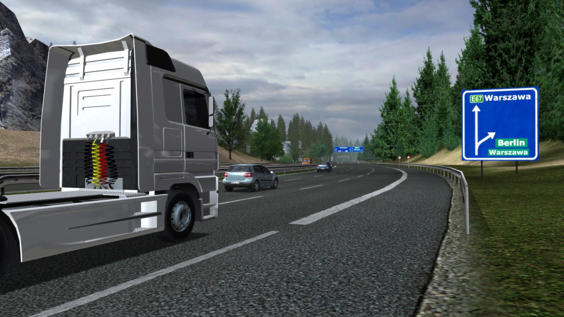 download euro truck simulator full pc game. Black Bedroom Furniture Sets. Home Design Ideas