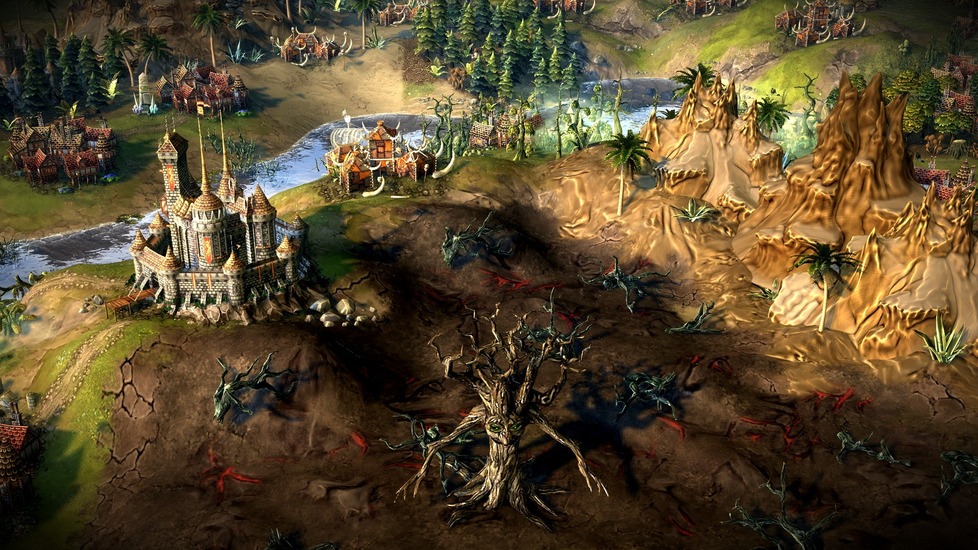 Eador. Masters of the Broken World screenshot