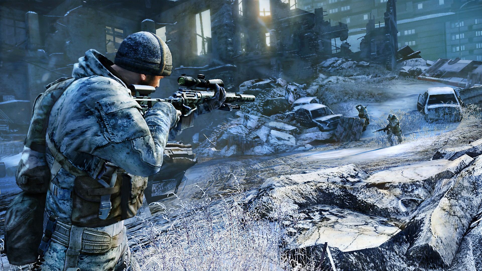 City Interactive released today a new set of screenshots for their upcoming  CryEngine 3 powered sniper gamer, Sniper: Ghost Warrior 2.