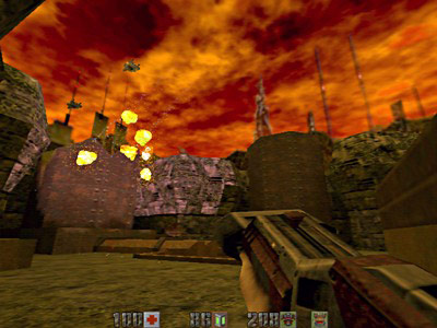 QUAKE II Mission Pack: The Reckoning screenshot