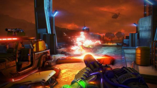 Скриншот игры [Аккаунт] Far Cry 3 - Blood Dragon