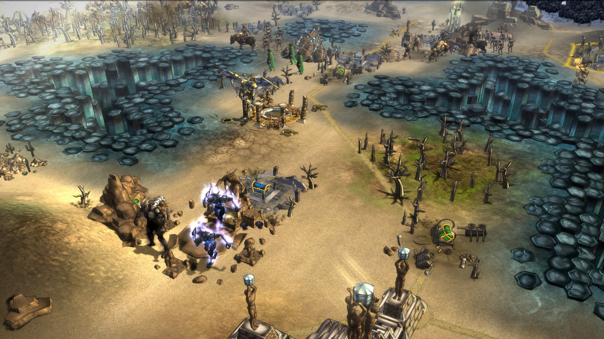 Fallen Enchantress: Legendary Heroes - Map Pack DLC screenshot