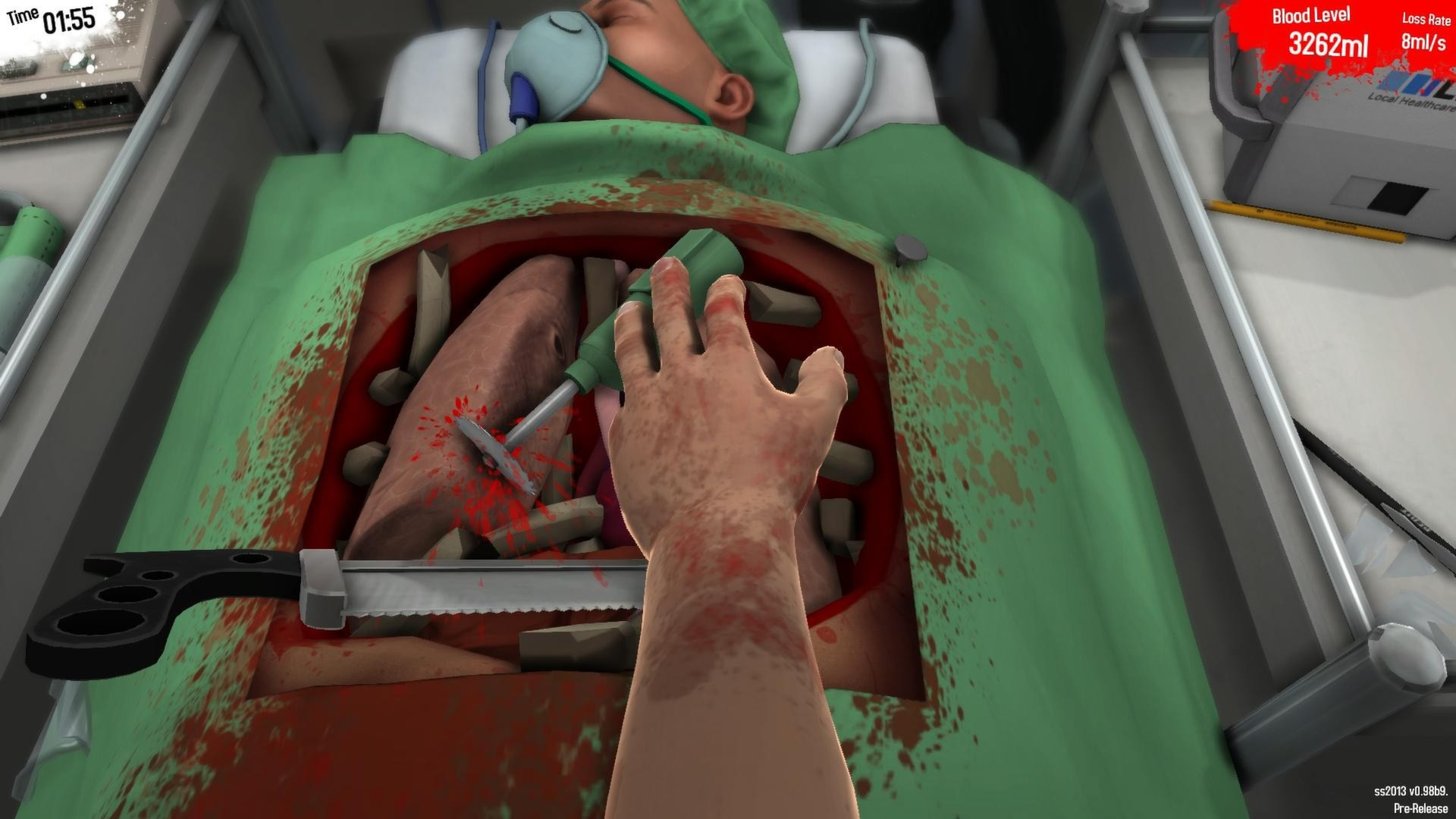 Surgeon Simulator 2013 screenshot 1