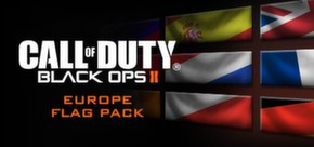 Call of Duty®: Black Ops II - European Flags of the World Calling Card Pack